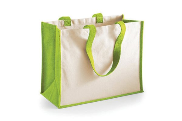 jute shopper grün shop