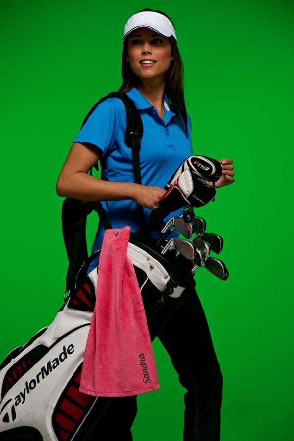 golftuch mit namen sandra