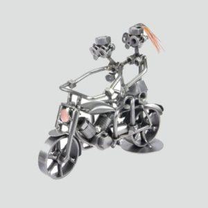 Motorrad doppelt freigestellt