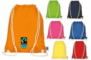 Fairtrade Rucksack bunt