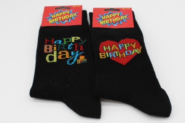Happy Birthday 2 Socken