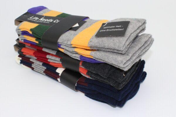 Ohne Gummi Trend Socken