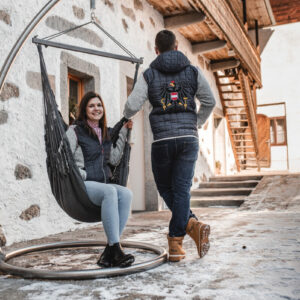 Österreichjacke Hängesessel-stickshop
