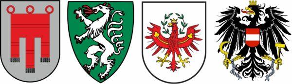 Diverse Wappen Österreich