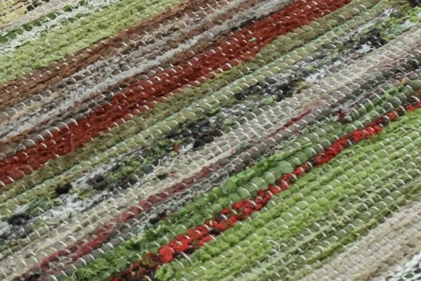 Fleckerlteppich_60_120_grün_detail